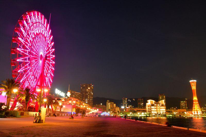 夜景にグルメにお買い物!みなと神戸の夜をモザイクで欲張りにすごす