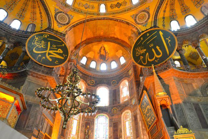 目の前に広がる、キリスト教とイスラム教の芸術