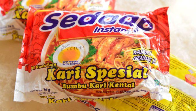 インドネシアの味で試す、インスタントラーメン