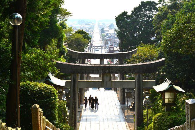 宮地嶽神社・総本宮の参道は、新しい世界への道