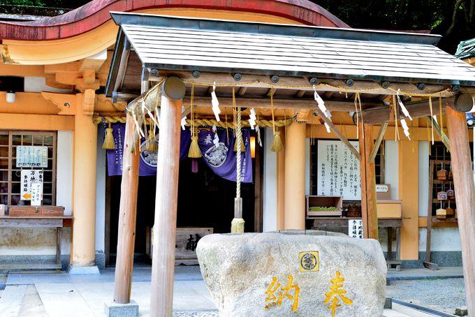 黄金が眠っていたパワースポット、宮地嶽神社
