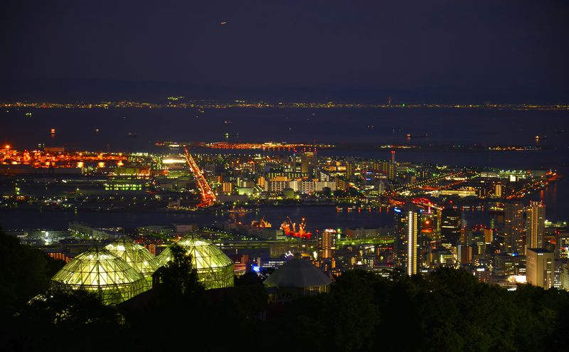"""""""1000万ドル""""の輝く夜景も「神戸布引ハーブ園」なら新神戸駅からわずか10分!"""