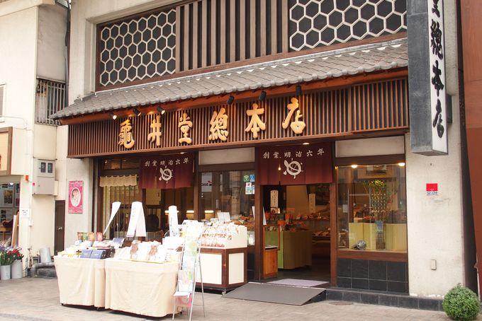6.瓦せんべい(亀井堂総本店)