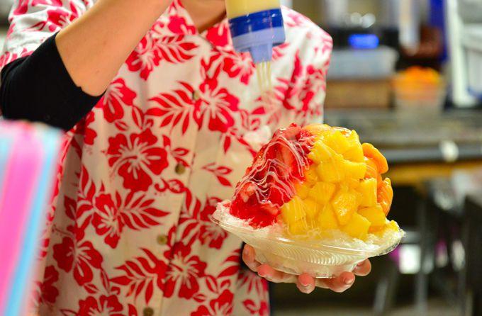 欲張りたいフルーツのかき氷なら「おんなの駅 なかゆくい市場」