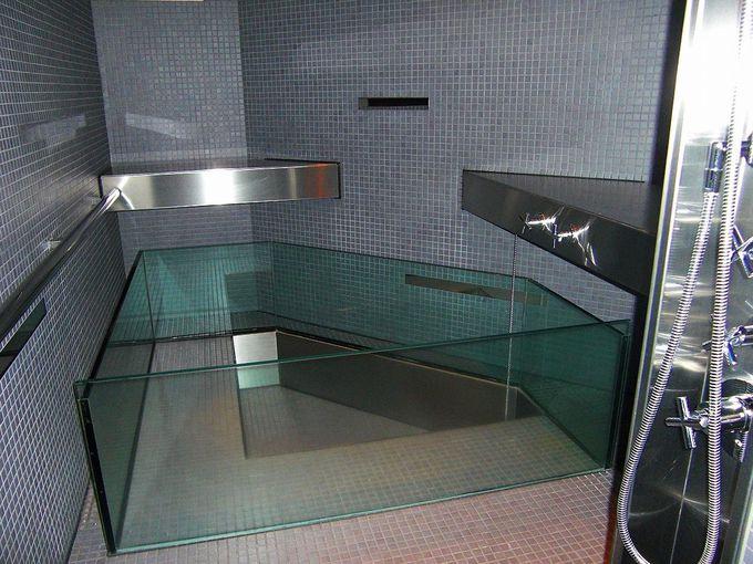 清潔で快適空間が広がるシャワールーム