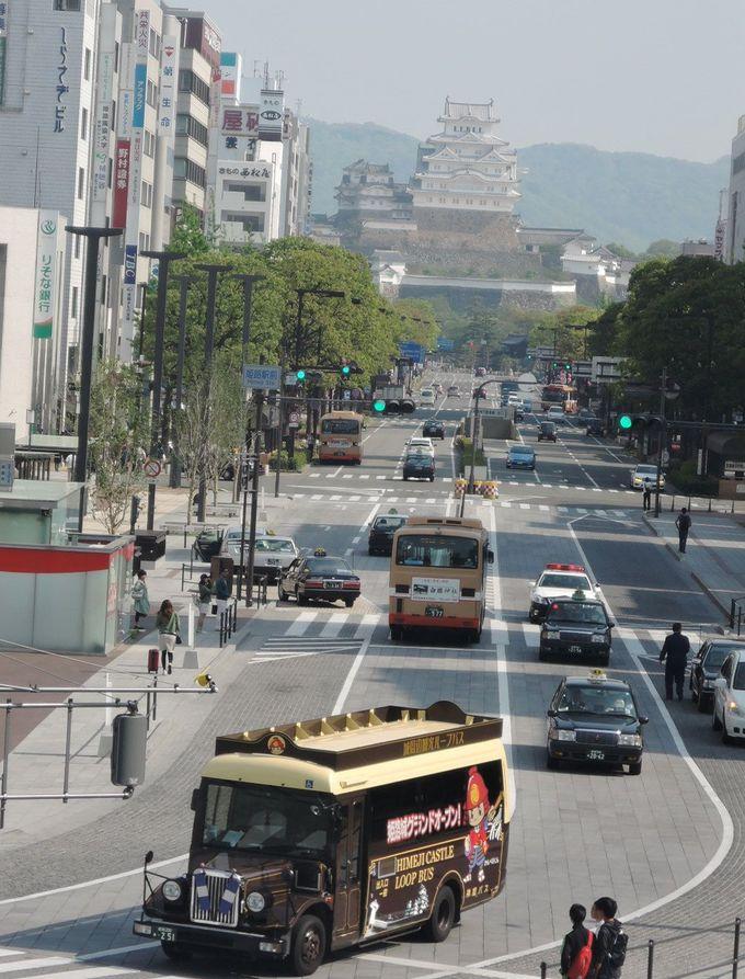 素通りはもったいない!ちょっと2階へ。JR姫路駅「北口キャッスルビュー」