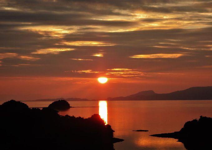 夕陽だけではない!この満足感。大切な人達とすごしたい。特別時間。