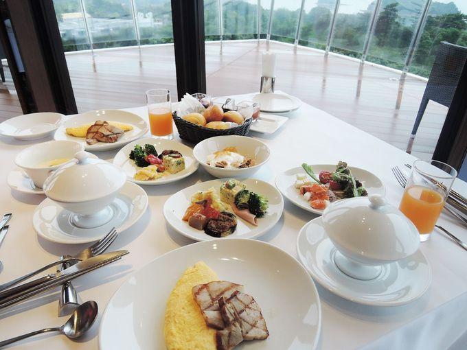 朝食も大満足!ビュッフェの様でコースの様な特別感がたまらない。
