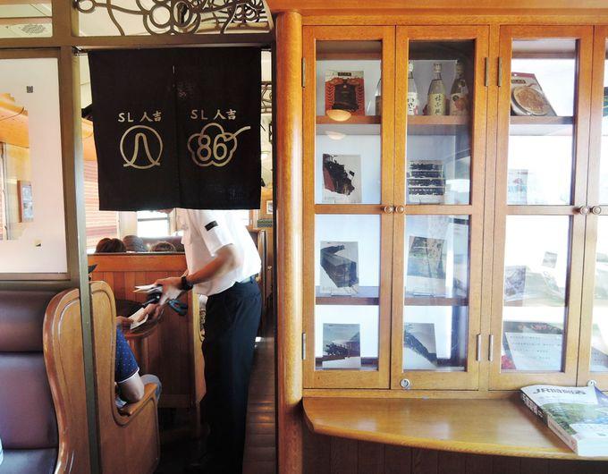魅力2:内装 1両ずつ違う!考え抜かれた客室のデザイン。
