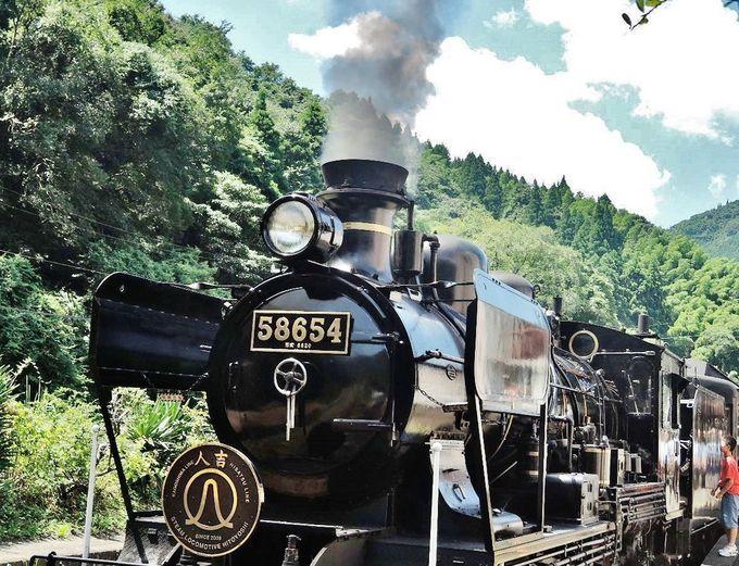 蒸気機関車に乗って特別な旅を!家族連れに大人気・熊本「SL人吉」