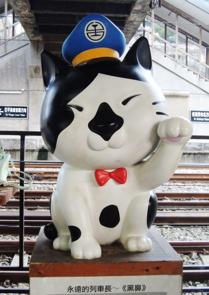 世界6大猫スポットの入り口は「黒鼻」駅長さんがお出迎え!