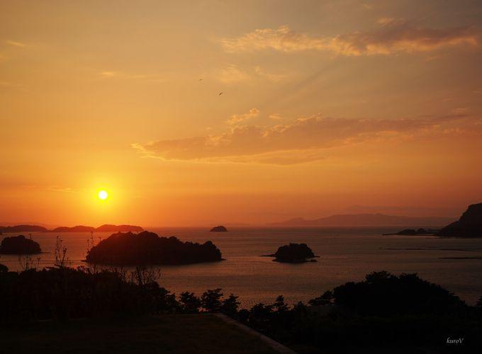 夕陽も美しい湯島へのアクセスは