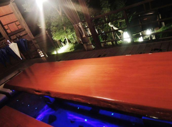 「リゾラテラス天草」海辺のカフェから眺める4号橋