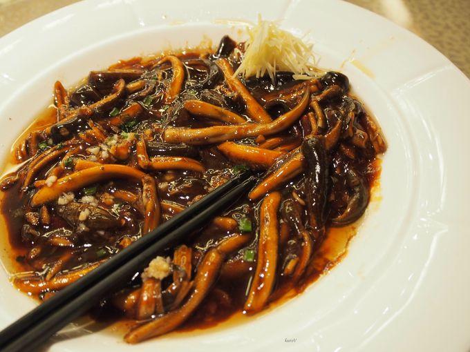 蘇州ならでは、ちょっとおもしろいお料理も!