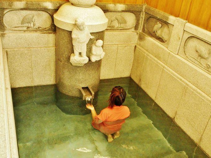 皇室の湯を体験!道後温泉別館 飛鳥乃湯泉(あすかのゆ)「特別浴室」