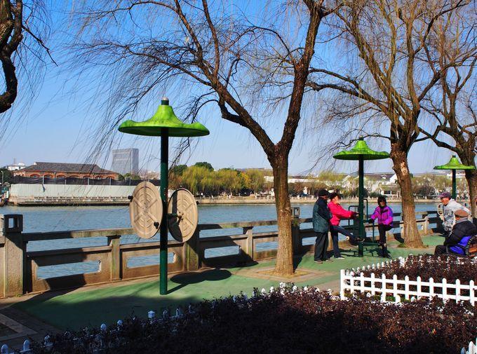 市民が集う美しき健康公園
