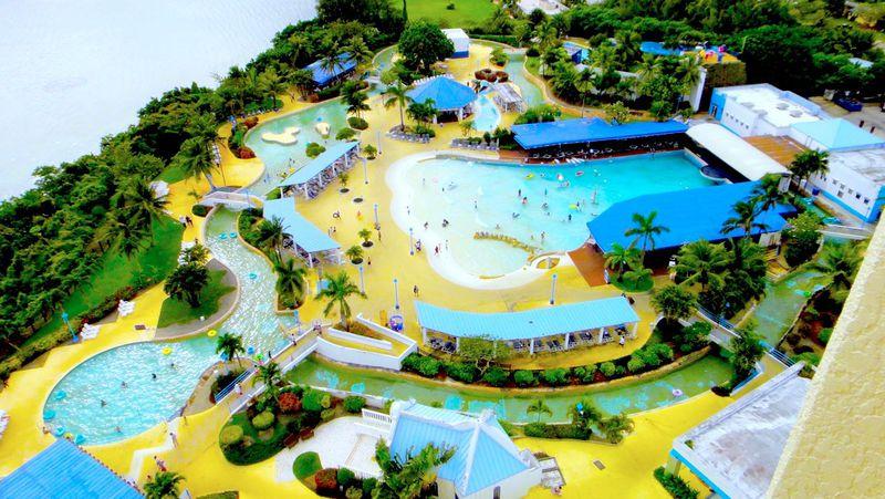 グアム最大級の水の楽園「オンワードビーチリゾート」