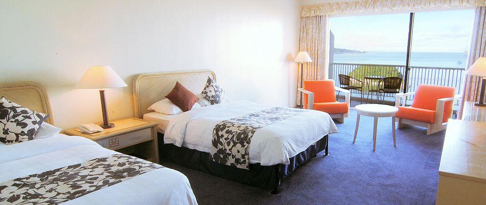 グアム最大の広さを誇る客室で、極上な休日を!