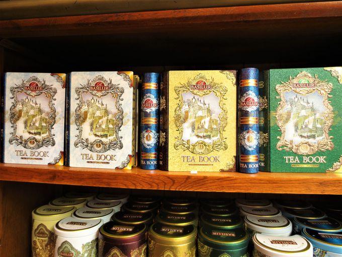 新進紅茶専門店「ロンドン・ティー・エクスチェンジ」