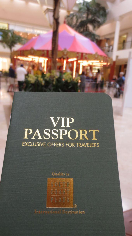 到着したらすぐに「VIPパスポート」をゲットしよう!