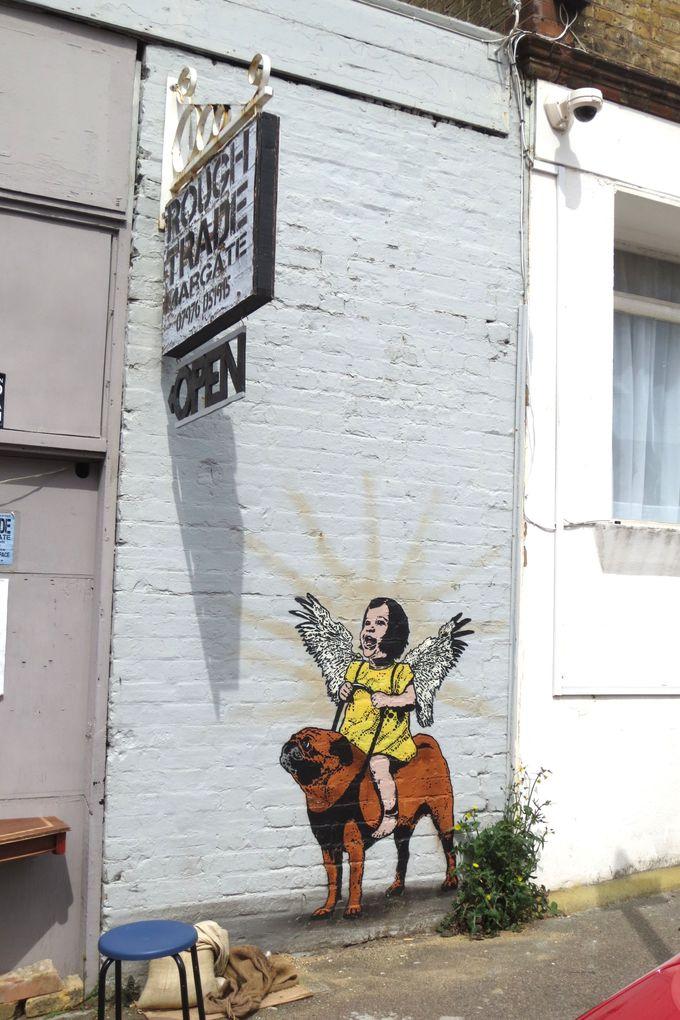 探し始めるといろいろ見つかる!作者不明のストリートアート