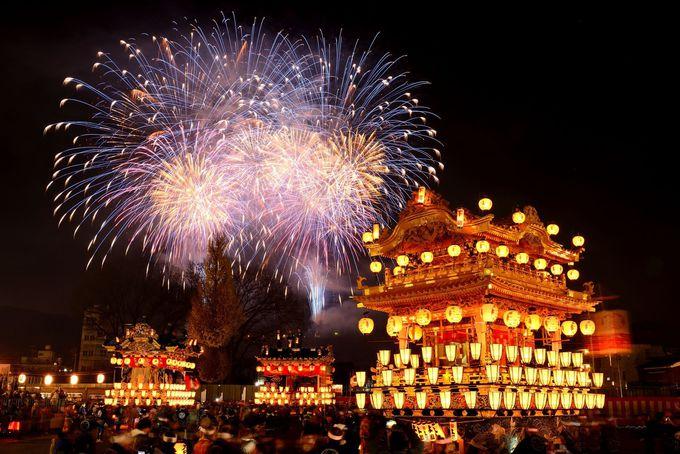 冬の粋にシビレる!埼玉が誇る日本三大曳山祭「秩父夜祭」