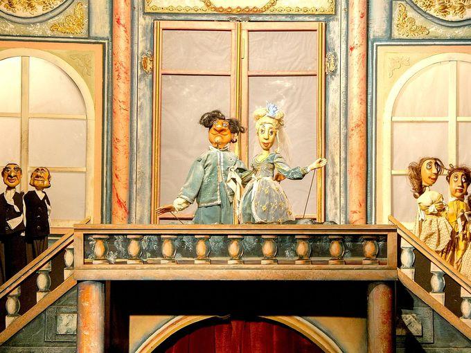 子供だけの場所ではない!オペラファン必見「王の道・マリオネット劇場」