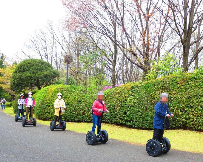 セグウェイガイドツアーも《昭和記念公園》立川市/昭島市