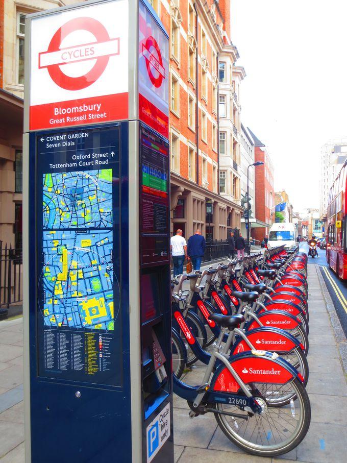 経済的で行動範囲も広がる新交通手段「ボリス・バイク」
