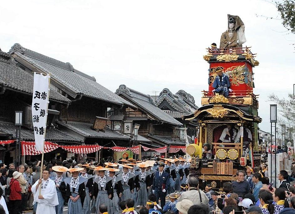 川越まつり・山車行事の起源を観る「神幸祭」