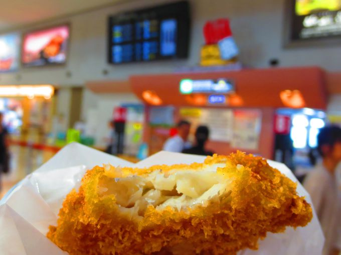 国東のB級グルメ、ふっわふわの「太刀魚チーズサンドカツ」