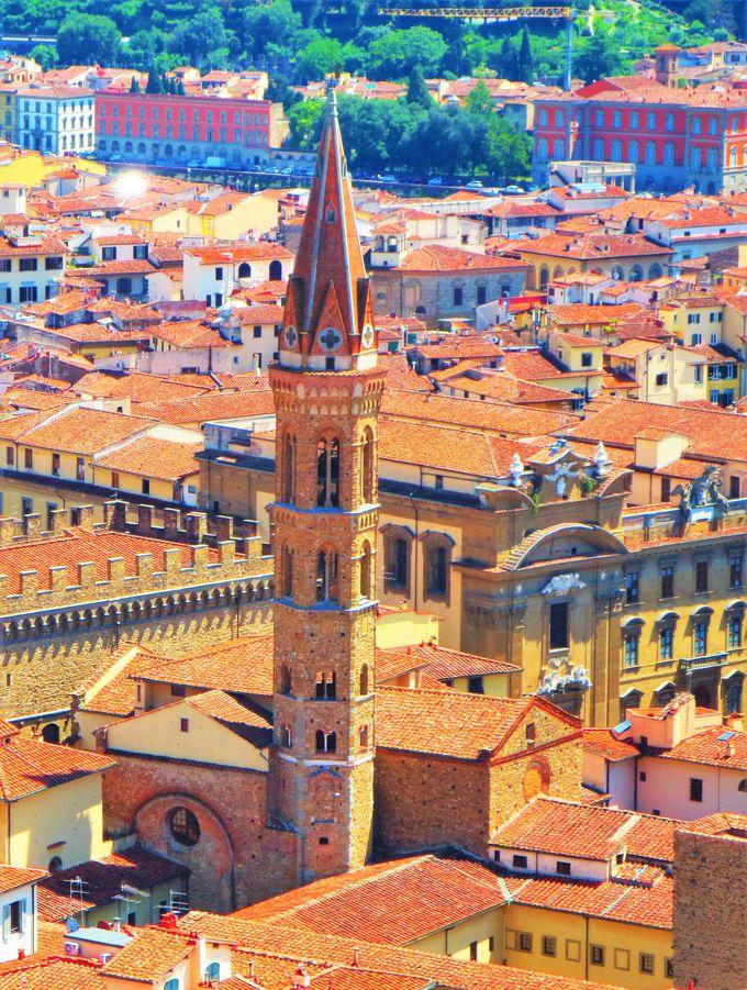 物語はここから始まる!「バディア・フィオレンティーナ教会」