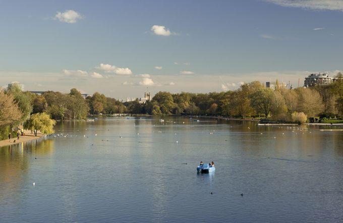 美しさに加え、イベントも多彩な公園「ハイド・パーク」