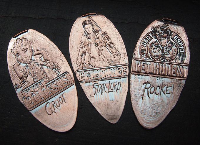 3種類のスーベニアメダルは全部揃えて帰ろう!