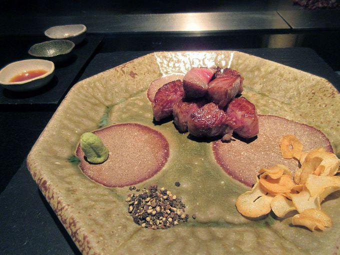 ドンペリから始まり、オマール海老と神戸ビーフの贅を尽くしたメイン