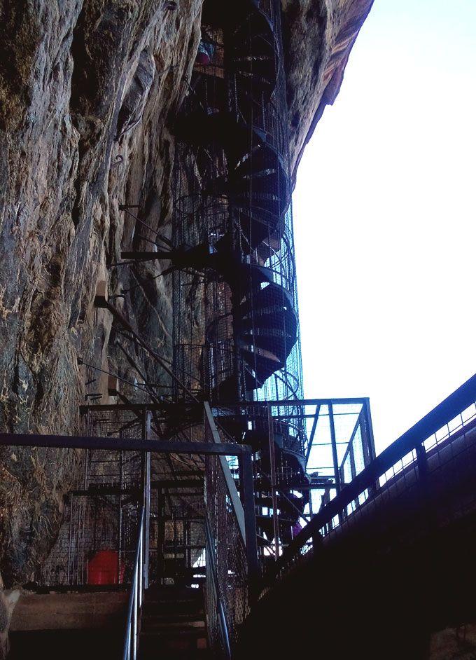 第2の階段「螺旋階段」
