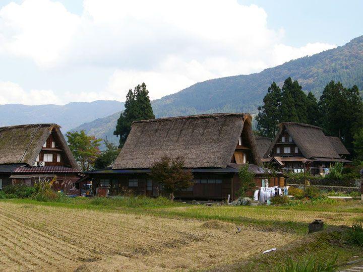 山村風景がとっても美しい相倉合掌造り集落
