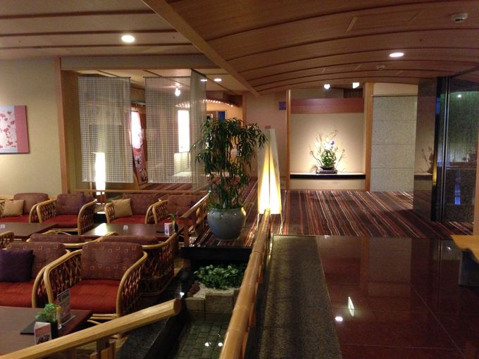 高級旅館も立ち寄り湯OKが多い雄琴温泉