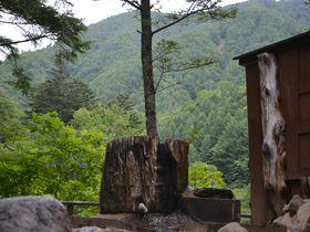 丸太風呂から秘境の絶景!奥鬼怒「こまゆみの里」で緑のシャワー浴びまくり|栃木県|トラベルjp<たびねす>