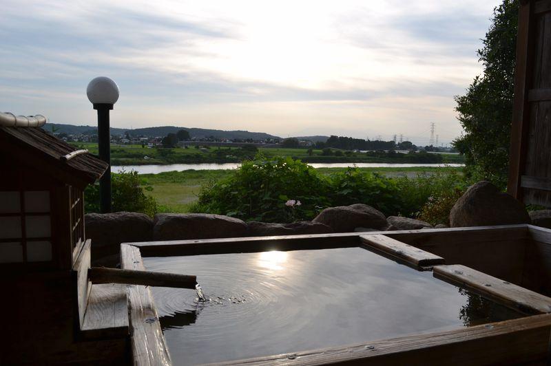 見晴らし最高!栃木・馬頭温泉「元湯東家」は極上ぬる湯の美肌温泉