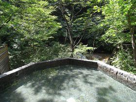 冷たい温泉と絶景露天!群馬・水上「仏岩温泉鈴森の湯」で爽快な湯浴みを