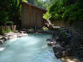 森の奥にワイルドな温泉が!山形蔵王「ヴァルトベルク」夏季限定野天風呂に入ろう|山形県|トラベルjp<たびねす>