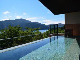 箱根の新日帰り温泉「龍宮殿本館」の絶景インフィニティ風呂で癒されたい