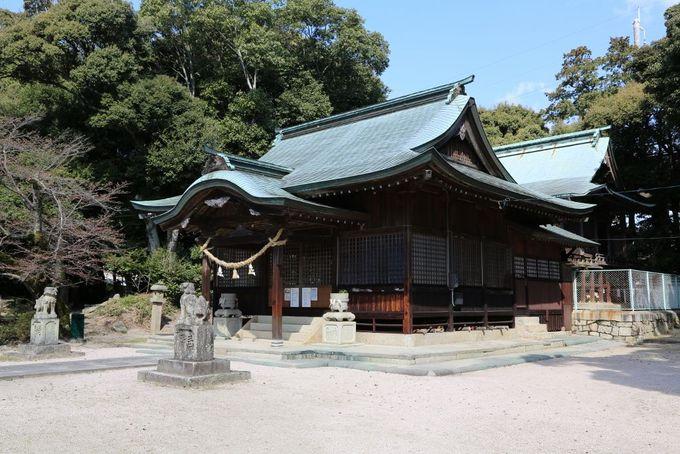 古代と現代のコラボ・剱神社