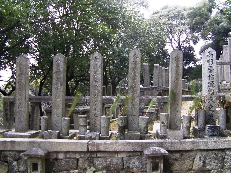 有名人の墓地をお参り