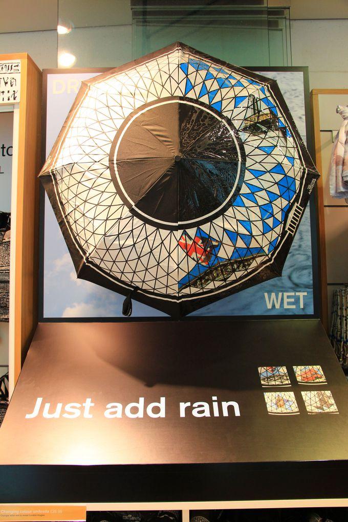 雨の日が楽しみになる折りたたみ傘