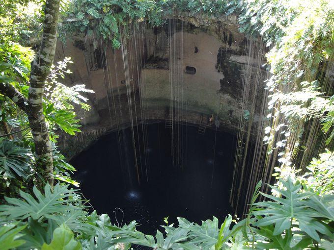 チチェン・イツァと一緒に行きたい!チチェン・イツァ遺跡近くの「セノーテ」