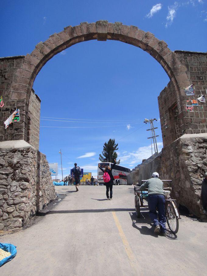 ペルーからボリビアの国境を超えるまで