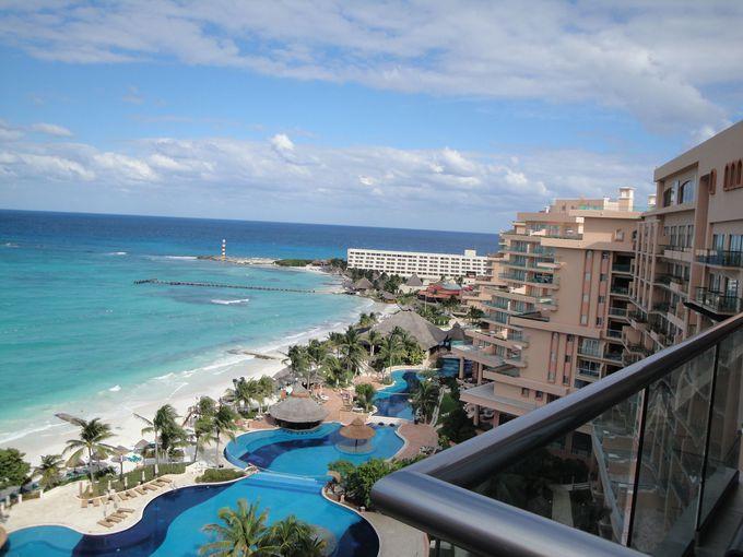 好立地!繁華街の絶景ホテル「Grand fiesta americana coral beach」