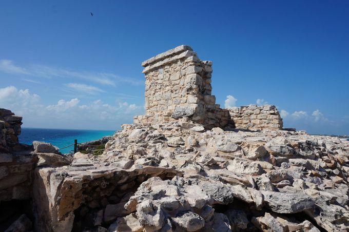 プンタ・スールにも存在するマヤ遺跡、「イクチェル」